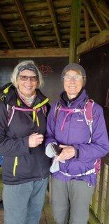 Inger og Elly på tur. Foto Jens Andreas Pedersen